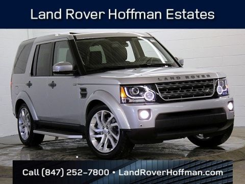 Certified Used Land Rover LR4 Silver Edition