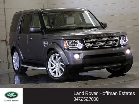 Certified Used Land Rover LR4 HSE LUX