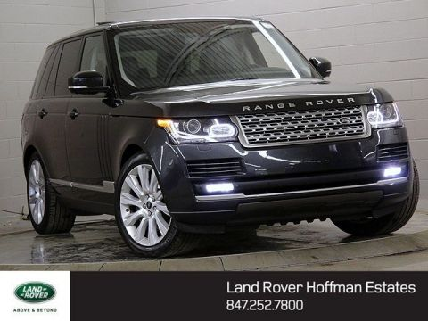 Certified Used Land Rover Range Rover Supercharged