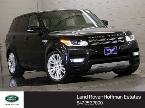 Certified Used Land Rover Range Rover Sport 3.0L V6 Supercharged HSE