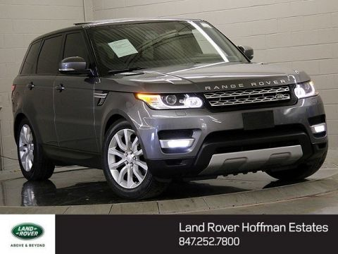 Certified Used Land Rover Range Rover Sport HSE