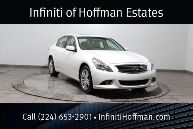 Certified Used Infiniti G37 Sedan x With Navigation and Premium Packages