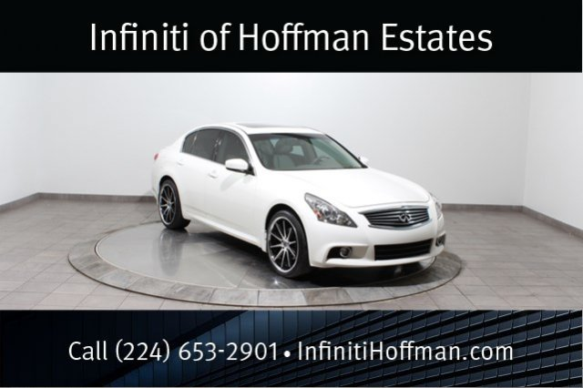 Certified Used Infiniti G37 Sedan x With Sport, Navigation and Premium Packages