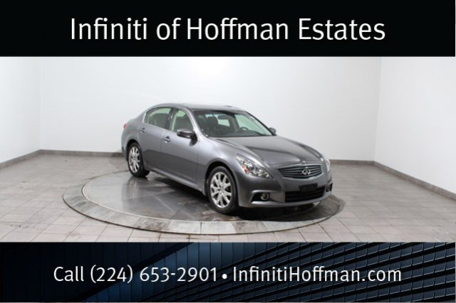 Certified Used Infiniti G37 Sedan x with Sport, Navigation and Premium Package