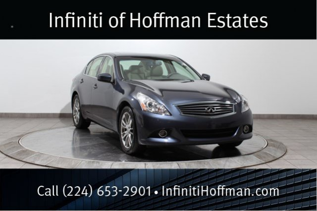 Certified Used Infiniti G37 Sedan AWD, Certified, Navigation, 18 Wheels With Maple Wood Trim