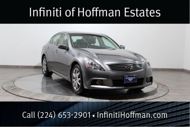 Certified Used Infiniti G37 Sedan x Sport, Navigation and Premium Packages