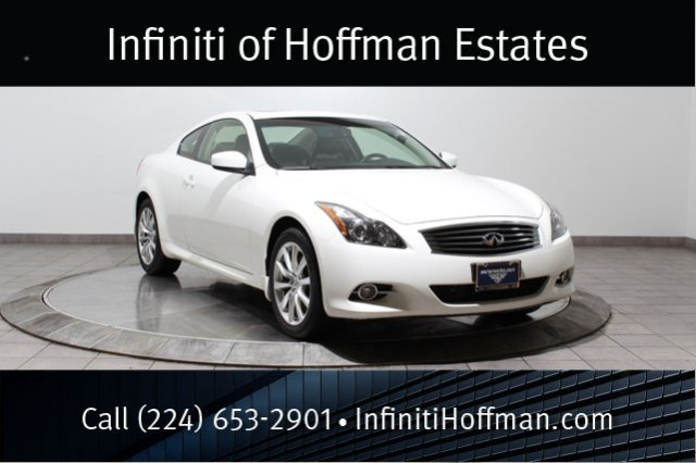 Certified Used Infiniti G37 Coupe AWD, Certified, Premium Package With Navigation
