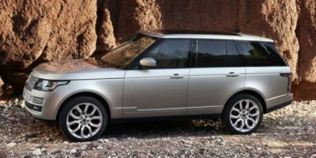New Land Rover Range Rover Supercharged