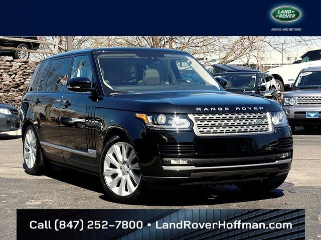 New Land Rover Range Rover Supercharged/HSE