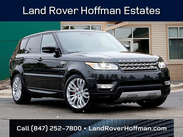 New Land Rover Range Rover Sport Supercharged